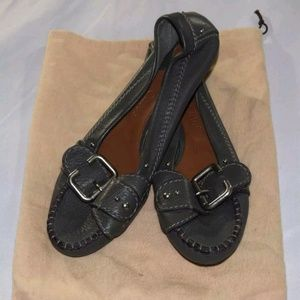 Leather Loafer 39 Buckle Paddington Made in Italy